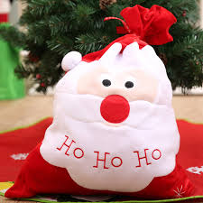 large christmas gift bags large christmas gift bag embroidery santa claus candy bags new