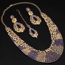 indian necklace set images Blue kundan set choker necklace set indian necklace indian etsy jpg