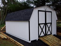 White House With Black Trim 2010 Sheds Sold