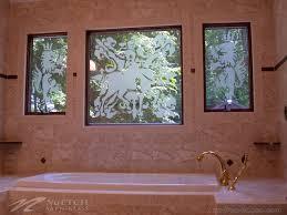 Bathroom Shower Windows by Decorating U0026 Privacy Solutions For Bathroom Glass