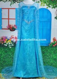 princess elsa dress cosplay halloween costumes women snow queen