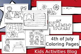 of july coloring pages