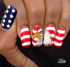 30 patriotic nail art designs for 4th of july nailpolis magazine