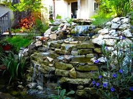 small backyard waterfalls ideas outdoor furniture design and ideas