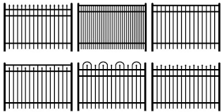 ornamental aluminum fence list of styles hoover fence company
