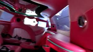 lamborghini limo inside inside the pink limo youtube