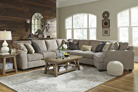 Cuddler Chaise Pantomine Driftwood 5 Pc Raf Chaise Sectional 39102 17 34 46