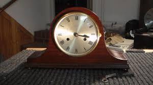 Mantel Clocks Thomas Haller Tambour Mantel Clock C 1920 James U0027 Clock