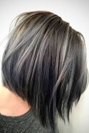 high lighted hair with gray roots silver highlights easy way to start the transition to having