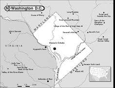washington dc region map see all historic dc area trolley routes on one map greater