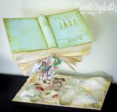 storybook baby shower cake cake by sweet elizabeth cake design