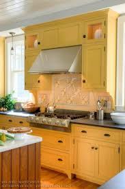 kitchen backsplash yellow interior design