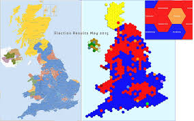 Uk Election Map by Thematic Mapping See Data Differently The Map Marketing Blog