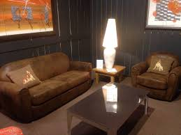 canapé cuir vieilli marron salon magasin de meubles à port de bouc marseille depuis