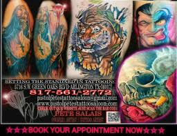 pistol pete u0027s tattoo u0026 piercing shop in arlington tx award
