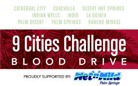 Challenge Blood 9 Cities Blood Drive Challenge Discover Cathedral City