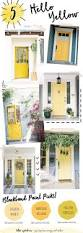 House Doors Exterior by Best 25 Yellow Front Doors Ideas On Pinterest Yellow Doors