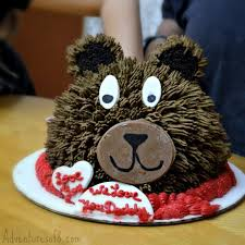 show your love with a teddy bear cake from baskin robbins