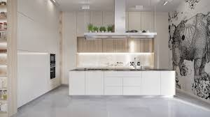 white gloss kitchen floor cupboard 30 modern white kitchens that exemplify refinement