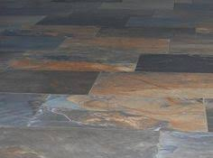 our porcelain tile for the kitchen looks like slate but has a