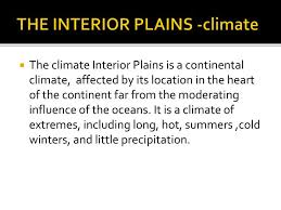 The Interior Plains Climate Ppt Social Studies 9 Physical Geography Of Canada Assignment