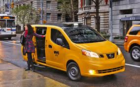 lexus taxi brooklyn official nissan nv200 is new york u0027s taxi of tomorrow hits