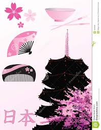 japanese design elements royalty free stock image image 7826366