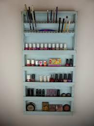 Bathroom Makeup Storage by Nail Polish Rack Display Makeup Organizer Storage Pencil