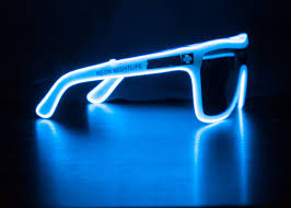 Tron Halloween Costume Light Up by Spy Flynn Inspired Sunglasses Glow In The Dark Light Up