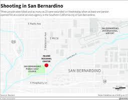san bernardino ca map shooting in san bernardino california business insider