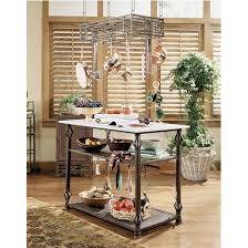 wrought iron kitchen island white kitchen island usa