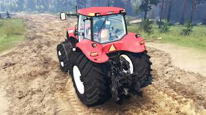 ih magnum cvt 380 for spin tires