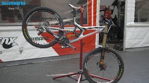 bike talk josh bryceland about his santa cruz v10 shimano