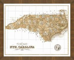 North Carolina State Map by Old Map Of North Carolina U2013 A Great Framed Map That U0027s Ready To Hang