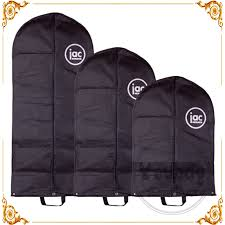 wedding dress garment bag high quality recyclable hockey jersey garment bag mini garment bag