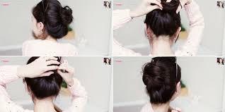 tutorial sirkam rambut panjang tutorial rambut cepol korea yang lagi booming vemale com