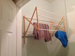Hanging Clothes Rack From Ceiling Creative Diy Clothes Drying Racks