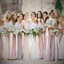 pink country bridesmaid dresses gown4style