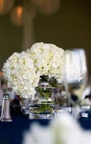 White Hydrangea Centerpiece by White Hydrangea I Really Like These Maybe To Include In The