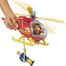 4052351007005 simba fireman sam helicopter figurine