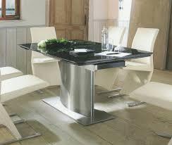 Esszimmertisch Oval Schwarz Esstisch Granit Ausziehbar Carprola For