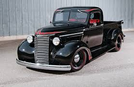 Vintage Ford Truck Grill - a 1939 chevy pickup that mixes themes with great results