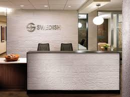 Modern Office Reception Desk Best 25 Modern Reception Area Ideas On Pinterest Office