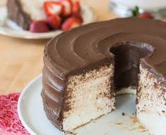 angel food cake with chocolate frosting recipe box tops angel