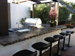 Patio Kitchen Contemporary Backyard Kitchen Claudia Schmutzler Hgtv