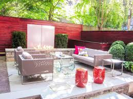 Small Backyard Deck Patio Ideas 15 Creative Ways To Use Pavers Outdoors Hgtv U0027s Decorating