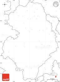 Blank Political Map by Blank Simple Map Of Bastar Jagdalpur No Labels