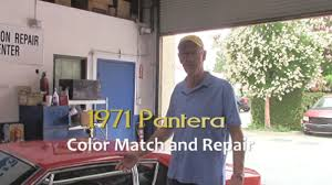 1971 pantera auto body repair paint color match center simi valley