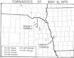 Zip Code Map Omaha May 1975 Omaha Tornado