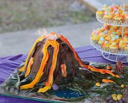 dinosaur volcano cake archives ambrosia cake creations